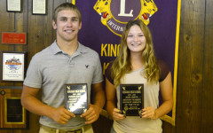 Maloney, Smith Named Lions Athletes of Year