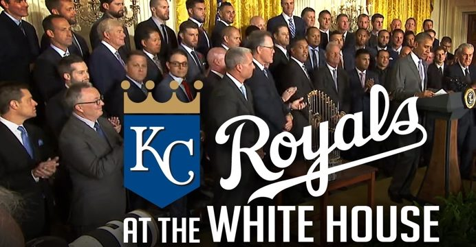 royals at white house