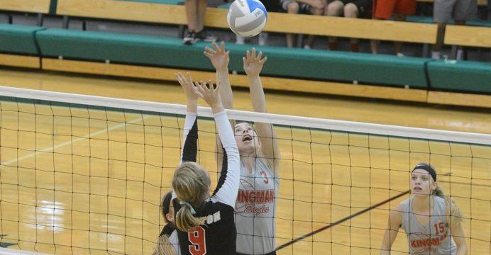 kingman volleyball 8-27-16