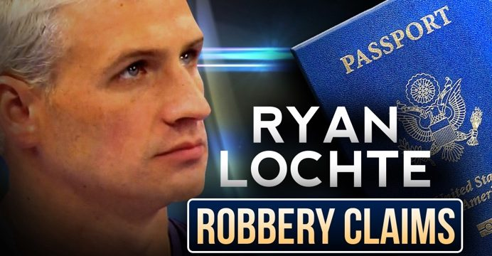 ryan lochte robbery claim