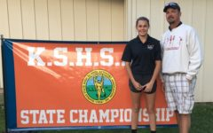 Camryn Watkins 11th at Girl's State Golf