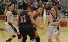 Lady Eagles Start Strong Against Larned