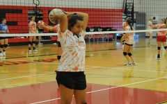 Lady Eagles Bring Positive Mindset to VB Camp