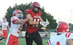 Eagles Roll Past Marion in Homecoming Game